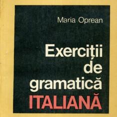 Maria Oprean - Exercitii de gramatica italiana - 594095 - Ghid de conversatie