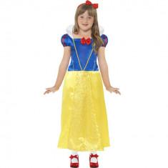 Costum Alba ca Zapada fetite 4-6 ani - Carnaval24 - Costum carnaval