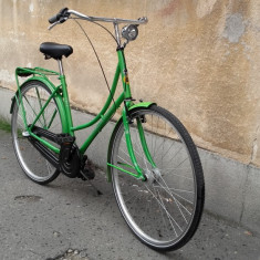 Bicicleta de oras Gepida Amsterdam Nexus3 City Retro clasica - iluminare proprie, 18 inch, 28 inch, Numar viteze: 3