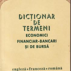 Mihai Miroiu - Dictionar de termeni economici financiar-bancari si de bursa.Engleza-franceza-romana - 36821 - DEX