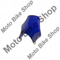 MBS Parbriz moto universal Puig Mini, albastru, cu kit universal de prindere, Cod Produs: 10006505LO
