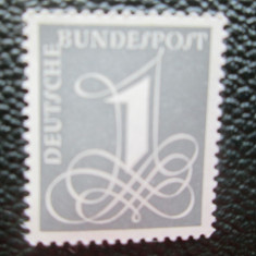 TIMBRE GERMANIA  SERIE=MNH