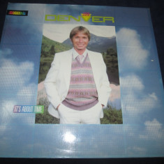 John Denver ‎– It's About Time _ vinyl(LP, album) Germania - Muzica Country rca records, VINIL