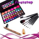 Trusa machiaj 56 nuante MAC farduri profesionale cosmetice Set 7 pensule Creion, Mac Cosmetics