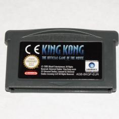 Joc Nintendo Gameboy Advance GBA - King Kong - Jocuri Game Boy Altele, Actiune, Toate varstele, Single player