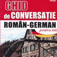 Kristine Lazar - Ghid de conversatie niculescu roman-german pentru toti - 680130