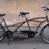 Bicicleta Tandem Neuzer Twilight / Bicicleta de oras dubla / Cruiser SHIMANO N 3