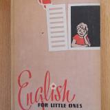 ENGLISH FOR LITTLE ONES (rusa-engleza)