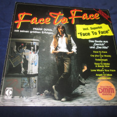 Frank Duval – Face To Face _ vinyl(LP, compilatie) Germania - Muzica Pop, VINIL