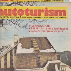 Bnk div Revista Autoturism - anul 1985 - 7 numere, stare buna