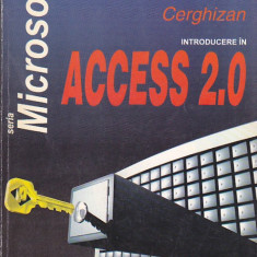 MIHAI ANTON CERGHIZAN - INTRODUCERE IN ACCESS 2.0 - Carte Microsoft Office