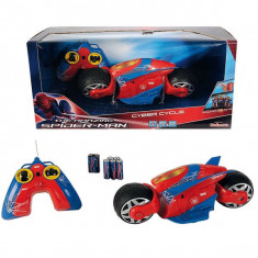 Motocicleta Spiderman RC Cyber Cycle 3089752 Majorette