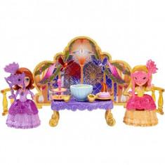 Jucarie Printesa Sofia Intai Bal Mascat CCW97 Mattel - Papusa Mattel, 4-6 ani, Plastic, Fata
