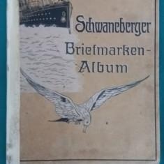 SCHWANEBERGER BRIEFMARKEN-ALBUM/ POSTAGE -STAMP ALBUM/ALBUM TIMBRES-POSTE/1930 - album clasor
