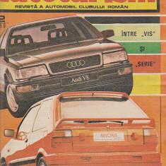 Bnk div Revista Autoturism - anul 1990 nr 12 - stare buna