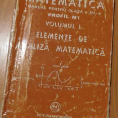 Manual matematica clasa a XII a de Mircea Ganga - Manual scolar mast, Clasa 12, Mathpress