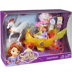 Printesa Sofia Intai Trasura regala Y6652 Mattel - Papusa Mattel, 4-6 ani