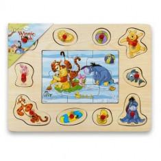 Puzzle lemn Winnie the Pooth si prietenii Disney