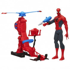 Set actiune Figurina Spiderman si Elicopter web copter A 6746 Hasbro - Roboti de jucarie