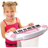 Jucarie pian roz Hello Kitty cu 12 melodii 027276 Smoby