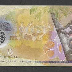 MALDIVE 10 RUFIYAA 2015 [1] P-26, polimer - bancnota asia