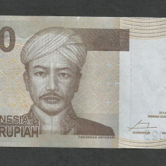 INDONEZIA INDONESIA 2000 2.000 RUPII RUPIAH 2014 [2] P-148f, XF+ - bancnota asia