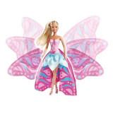 Jucarie Papusa Steffi Zana Fluture Magic Fairy 5732850 Simba, 4-6 ani, Plastic, Fata