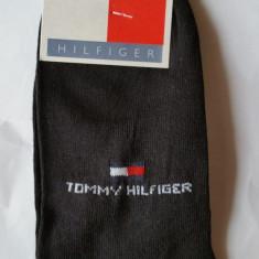 Sosete - Ciorapi Tommy Hilfiger - Made In Italy 100% Bumbac Marimea 41-46 Negru - Sosete barbati