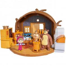 Masha si ursul - Casa ursului set joaca cu figurine 9301632 Simba
