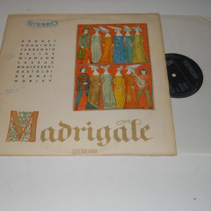 Madrigal - Muzica Corala electrecord, VINIL
