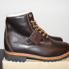 Ghete Timberland Mens EK Heritage Lined 6 Boots 6555A nr. 43, 5 - Ghete barbati Timberland, Culoare: Din imagine, Piele naturala