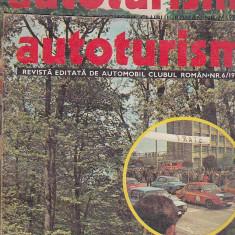 Bnk div Revista Autoturism - anul 1977 - 6 numere, stare buna