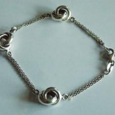Bratara de argint cu cercuri -12 - Bratara argint
