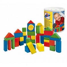 Galeata cu cuburi din lemn 60 piese