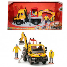 Camion Mercedes cu excavator 3414492 Dickie - Vehicul