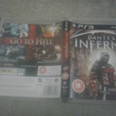 Dante's Inferno - Joc PS3 - PS 3 ( GameLand ) - Jocuri PS3, Actiune, 18+, Single player