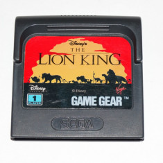 Joc SEGA Game Gear Gamegear - The Lion King - Jocuri Sega, Actiune, Toate varstele, Single player