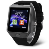 Smartwatch cu sim DZ09, argintii, noi, Alte materiale, watchOS, Apple Watch