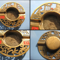 6139-I-Scrumiera alama vintage Antalya Turcia, diam. 13 cm.