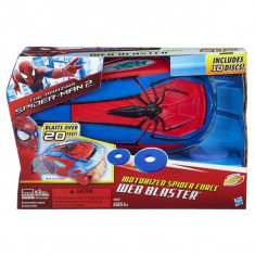 Lansator de discuri Spiderman A7047 Hasbro - Roboti de jucarie
