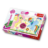 Puzzle My Little Pony Fluttershy si Rainbow Dash 60 pcs Trefl