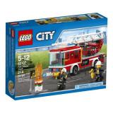 Camion de pompieri cu scara 60107 Lego City