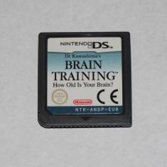 Joc Nintendo DS - Brain Training - Jocuri Nintendo DS Altele, Actiune, Toate varstele, Single player