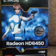 Placa video Sapphire AMD Radeon HD 6450 2GB DDR3 NOU!! - Placa video PC