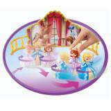 Printesa Sofia intai si printesa Amber - surorile dansatoare Y6644 Mattel, 4-6 ani, Plastic