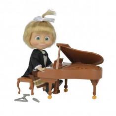 Jucarie Masha si ursul - Papusa Masha concert la pian 9301971 Simba, 4-6 ani, Plastic, Fata