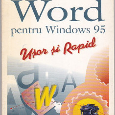 CHRISTIAN CRUMLISH - WORD PENTRU WINDOWS 95 - Carte tehnoredactare