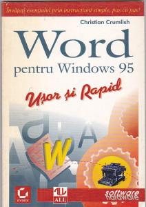 CHRISTIAN CRUMLISH - WORD PENTRU WINDOWS 95