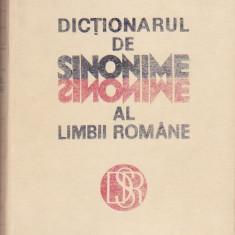 LUIZA SECHE, MIRCEA SECHE - DICTIONARUL DE SINONIME AL LIMBII ROMANE - Dictionar sinonime