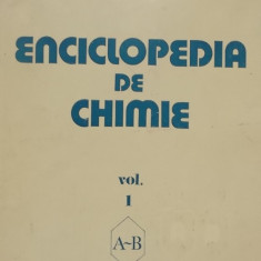 Elena Ceausescu - Enciclopedia de chimie, vol. I (1983)
